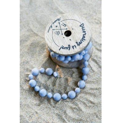 Riviera Maison Decoration Beads Light Blue