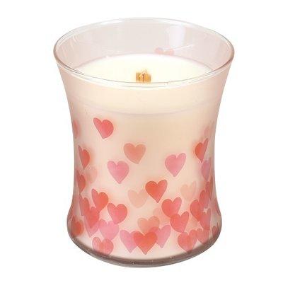 Woodwick Medium Candle Bakery Cupcake Sweetheart Hourglass