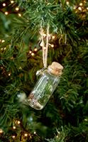 Merry Christmas Pine Bottle Ornament