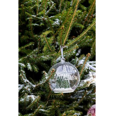 Riviera Maison Let It Snow Green Forest Ornament