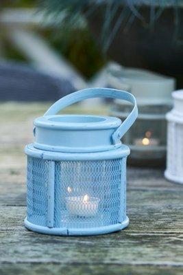 Riviera Maison Formentera Mini Lantern Blue