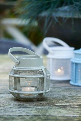 Riviera Maison Formentera Mini Lantern Gray