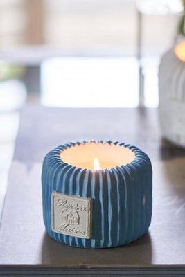 Riviera Maison Beach Resort Candle Blue S