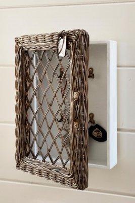 Riviera Maison Rustic Rattan Key Cabinet