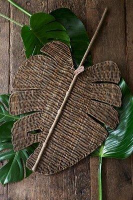 Riviera Maison Rustic Rattan Monstera Leaf
