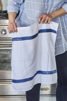 Riviera Maison Kitchen Towel pure white