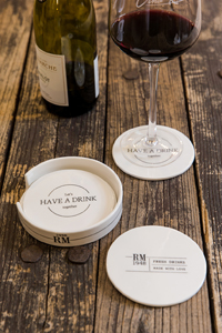 Riviera Maison Let's Have A Drink coasters