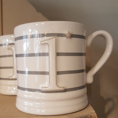 Bastion Collections Mug Small White Nr 1