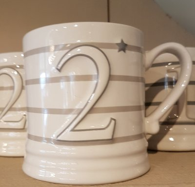 Bastion Collections Mug Small White Nr 2
