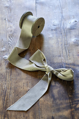 Riviera Maison Fabulous Velvet Ribbon Dove Grey