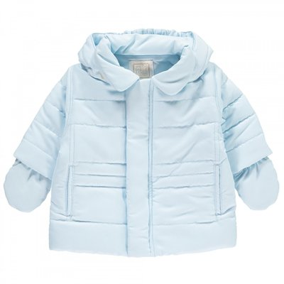 Emile et Rose Neil Padded Jacket with Hood & Mitts 3 maanden