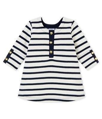 Le Petit Bateau Iconische jurk voor babymeisjes 6 maanden
