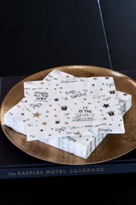 Rivièra Maison Paper Napkin Christmas All Around