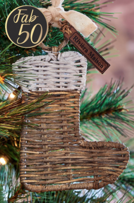 Rivièra Maison RR Christmas Hanger Stocking