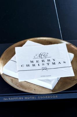 Rivièra Maison Paper Napkin Merry Christmas