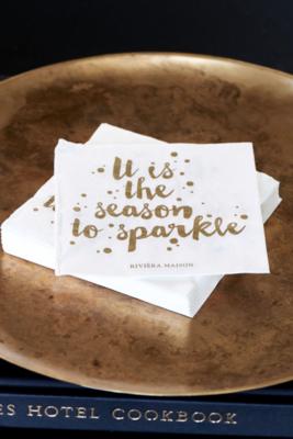 Rivièra Maison Paper Napkin Season To Sparkle