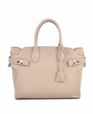 David Jones Handtas Taupe