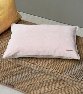 Rivièra Maison Classic Vint. Velvet Pillow Cover Pink