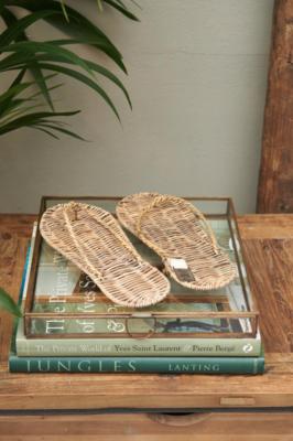 Rivièra Maison Rustic Rattan Flip Flops
