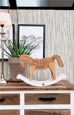 Rivièra Maison Rustic Rattan Rocky Horse