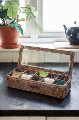 Rivièra Maison Rustic Rattan Classic Tea Box