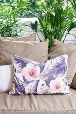 Rivièra Maison Hibiscus Bay Outdoor Pillow Cover 65x45