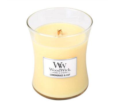 WoodWick Candle Lemongrass & Lily Mini