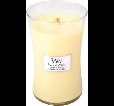WoodWick Candle Lemongrass & Lily Large