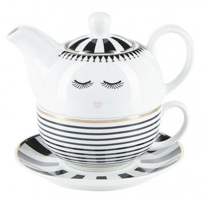 Miss Etoile Tea For One Stripes