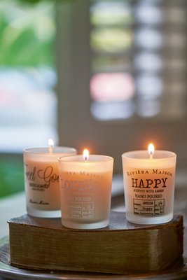 Riviera Maison Scented Candle Set Great Feelings