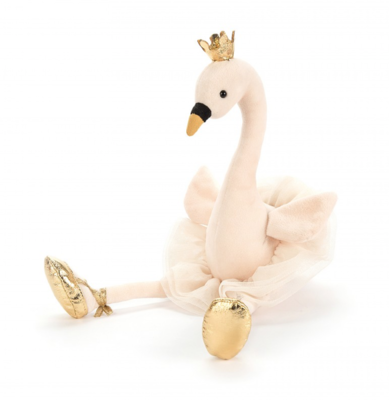 Jellycat Knuffel Fancy Swan