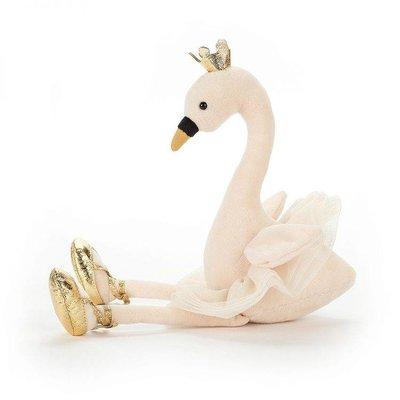 Jellycat Knuffel Fancy Swan Large