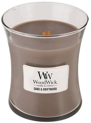 WoodWick Candle Medium Sand & Driftwood