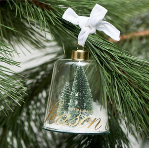 Joy of the season ornament green m