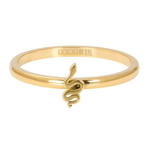 ixxxi vulring snake symbol goud