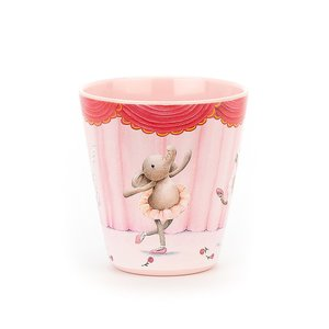 Elly Ballerina Melamine Cup