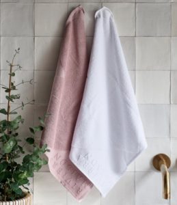 lovely heart kitchen towel