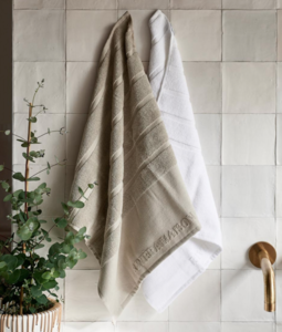 Classic kitchen towel flax