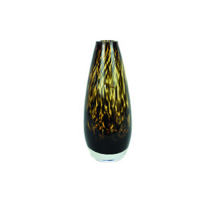 md leopard vase small