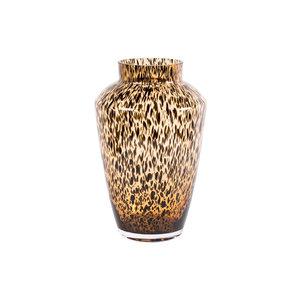 brown cheetah vase hudson