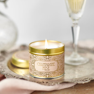 country candle champagne mist