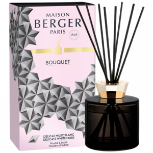 Lampe Berger geurstokjes delicate white musk black crystal