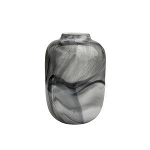 Grey Marble Vase Medium