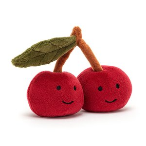 Jellycat knuffel fabulous fruit cherry
