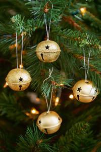 Riviera Maison Jingle Bells Gold 4pcs.