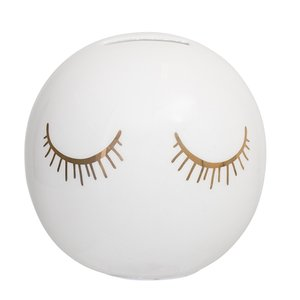 Bloomingville Audrey Money Bank White