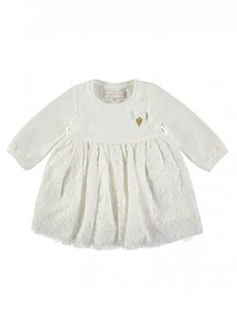Angels Face Lace Dress snowdrop white