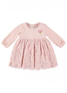 angels face baby dress pink