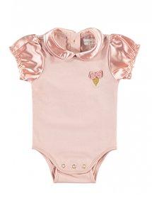 babygrow satin blush pink