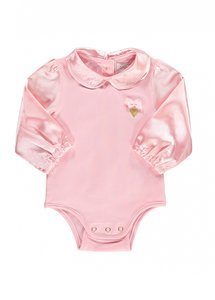 Angels Face Beth Babygrow Rose Pink